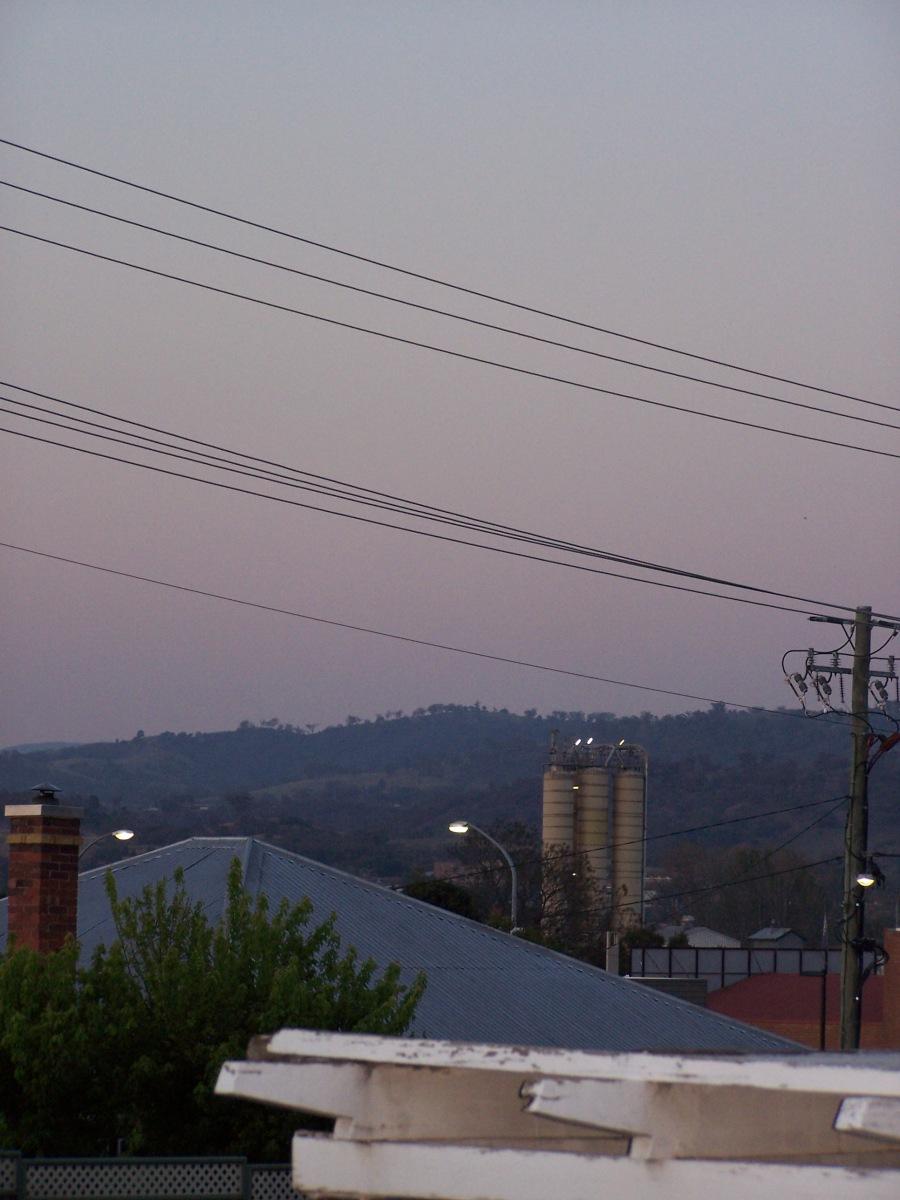 Smoky hills 6pm (c) Jillian Carlon